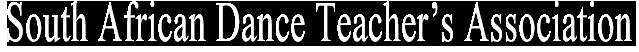 SADTA KZN Logo